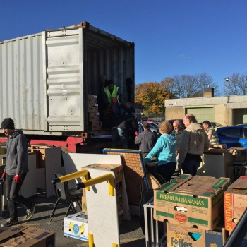 Annual Container Loading (October)